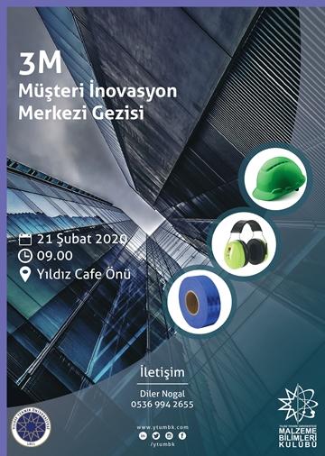 3M  İnovasyon Merkezi Teknik Gezisi